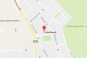 Life Church Mooroopna - View Map